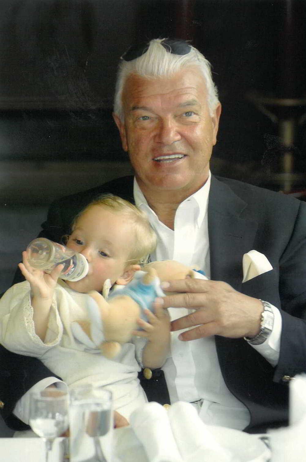 с внука  си Петър